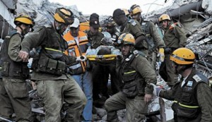 Israeli Rescue Workers in Haiti