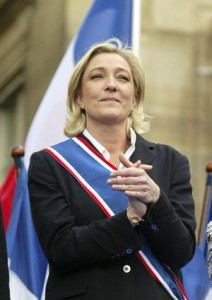 Marine Le Pen, new President of France's anti-semitic National Front