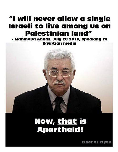 Mahmoud Abbas on Israeli Apartheid, Palestinian Real Estate