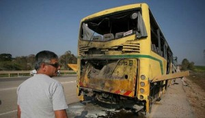 hamas fires missile at school bus in the Negev