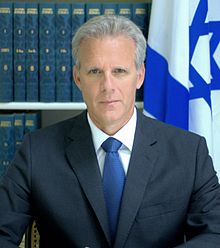 Michael Oren - scholar at Columbia and Princeton, then professor at Harvard and Yale, then Israeli Ambassador to the USA.
